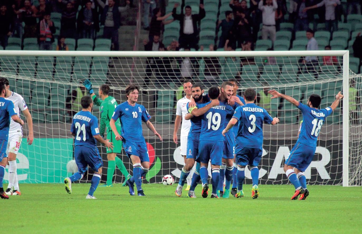 Просинечки: сборная Азербайджана никогда не показывала подобных результатов